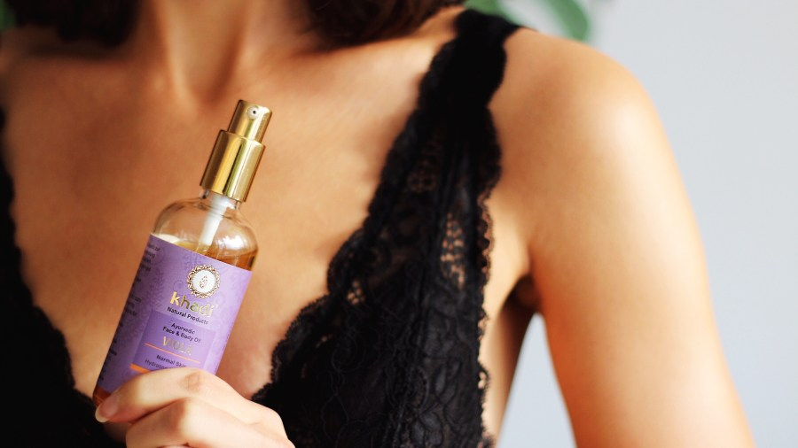 Khadi Face & Body Oil Viola