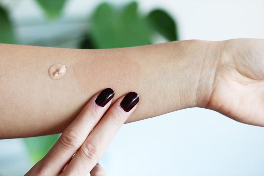 MOSSA Cosmetics Skin perfector BB Tinting Moisturiser Soft Beige Swatch