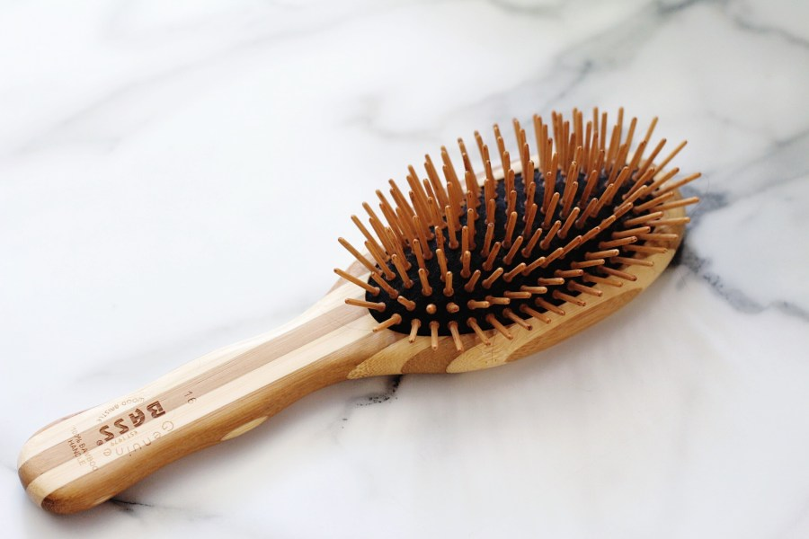 Bass Wooden Bristle Brush Large iHerb Beauty Haul