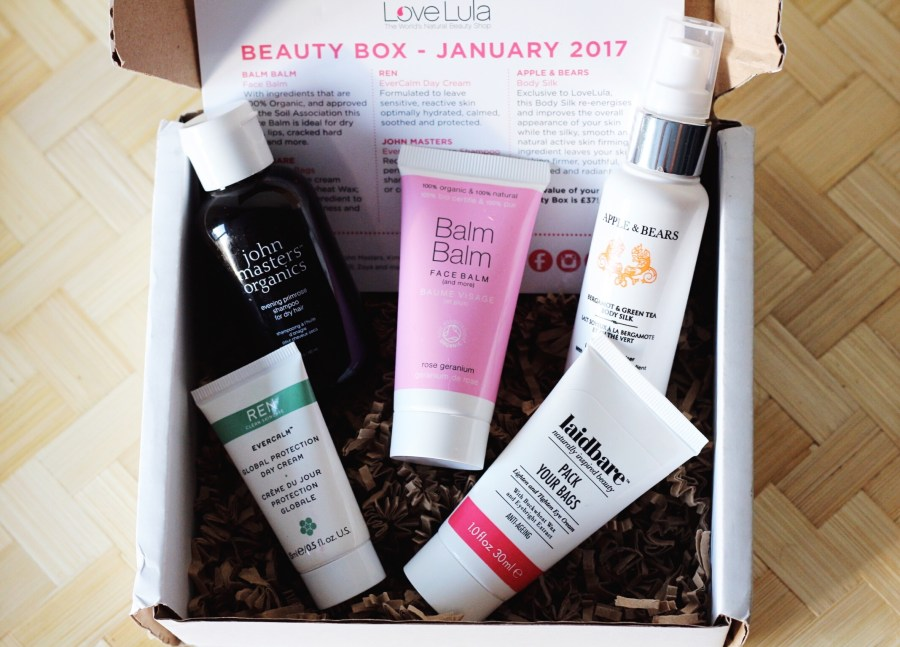 LoveLula January Box 2017