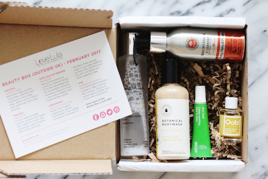LoveLula February Beauty Box 2017