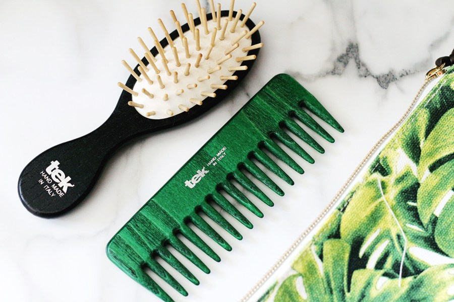 TEK Hair Brush Travel Comb