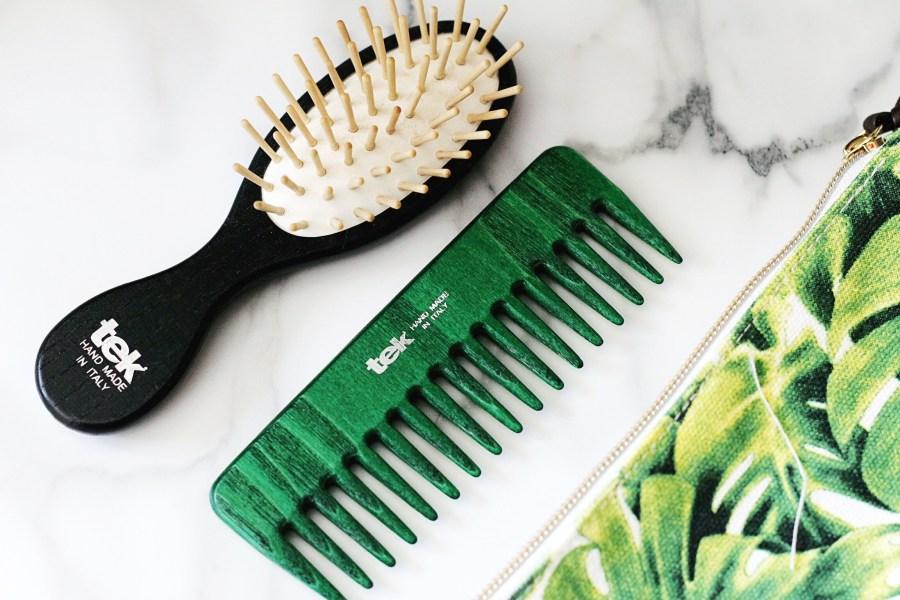 TEK Hair Brush Travel Comb