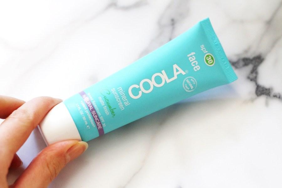 COOLA mineral cucumber sunscreen spf 30 iherb haul