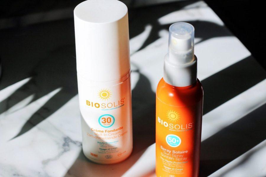 Biosolis Suncare Sun Spray SPF50 & Melt-In Cream SPF30