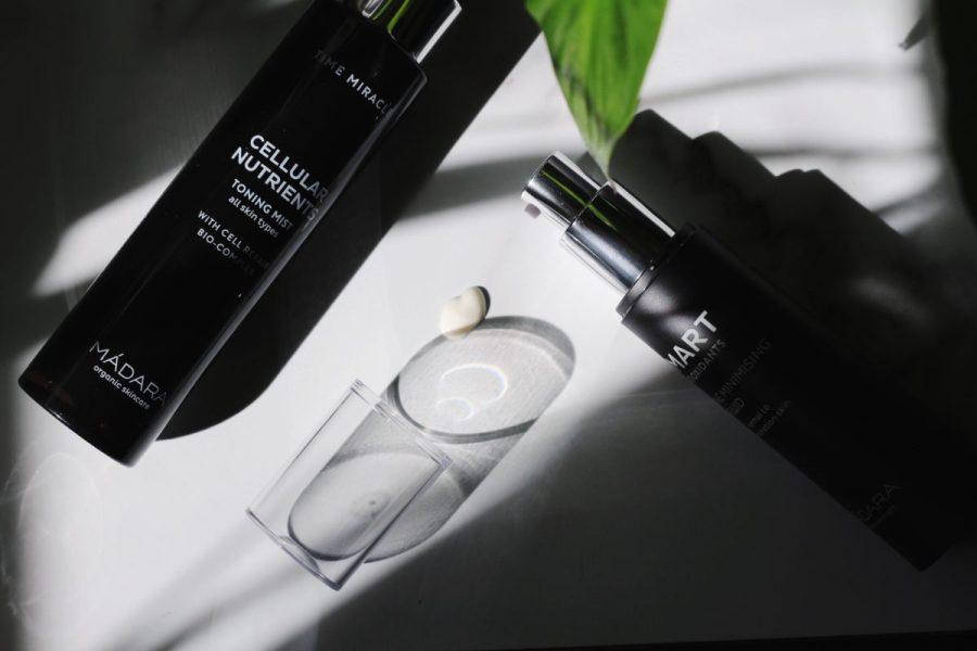 Mádara Smart Antioxidant Fine Line Day Fluid & Time Miracle Cellular Toning Mist