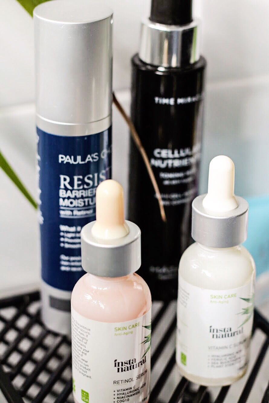 InstaNatural Day & Night set, Paulas Choice Resist Barrier Repair