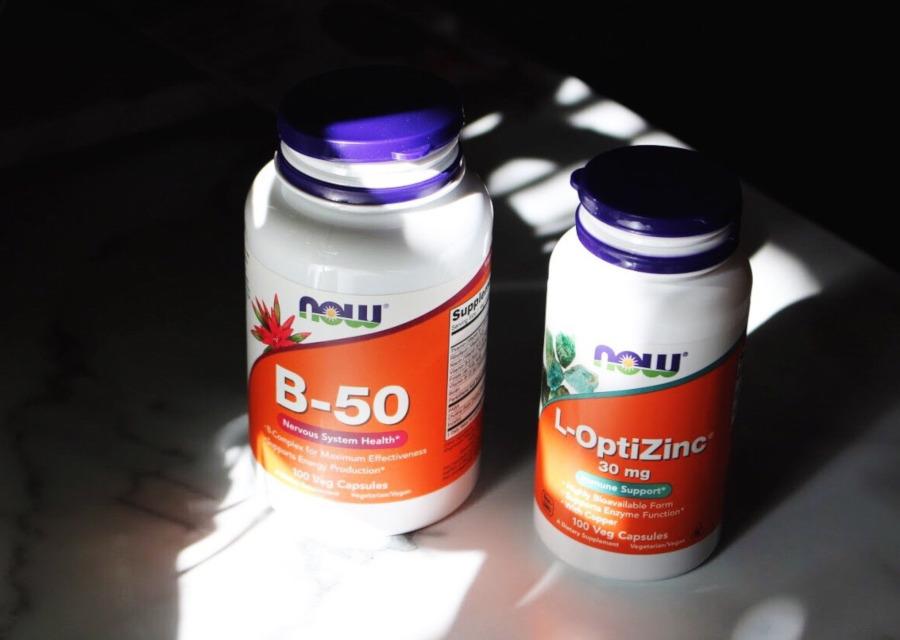 iherb now foods b-50 and L-OptiZinc
