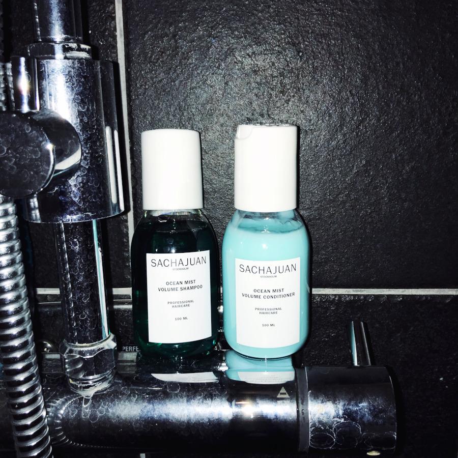 SachaJuan Ocean Mist Volume Shampoo & Conditioner and Volume powder