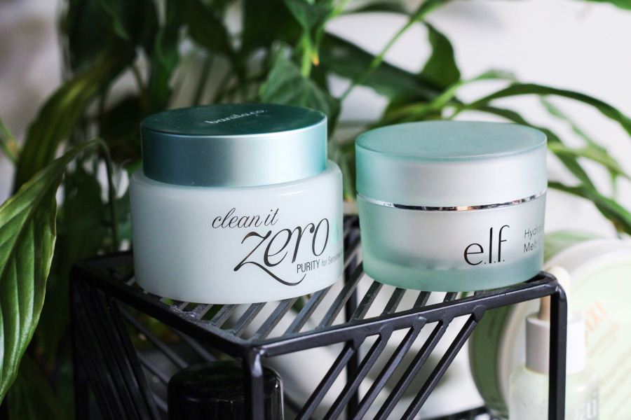 Empties banila co clean it zero, elf melt cleansing