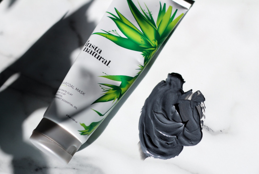 InstaNatural Charcoal mask review