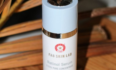 A Beginner's Retinol: First Aid Beauty Retinol Serum 0.25%