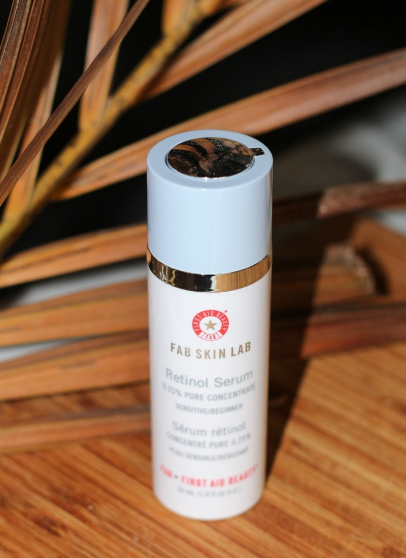 A Beginner's Retinol: First Aid Beauty Retinol Serum 0.25%