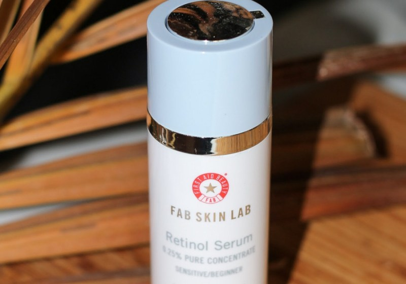 first aid beauty 0.25% retinol serum review