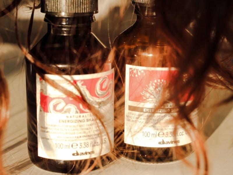 Davines Naturaltech Energizing Shampoo & Superactive Hair Serum