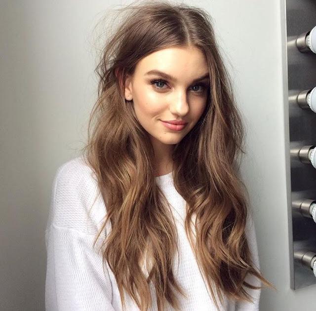 Astrid Berges Long Hair