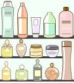 14739079-divers-cosmetiques-dans-salle-de-bain