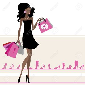 Woman-with-shopping-bags-Vector-illustration-Isolated-Stock-Vector