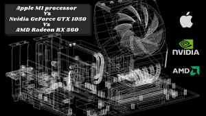Apple M1 chip is better than Nvidia GeForce GTX 1050 Ti and AMD Radeon RX 560 in Graphics Performance