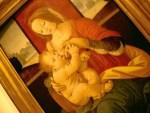 This painting of Mary breastfeeding Jesus hangs in the Vatican