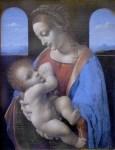 Da Vinci's Madonna and Child