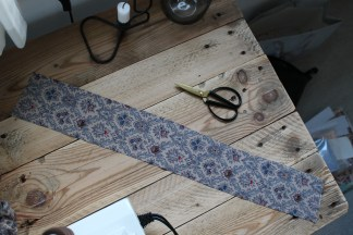 Klip et stykke stof - mit måler cirka 10x50 cm