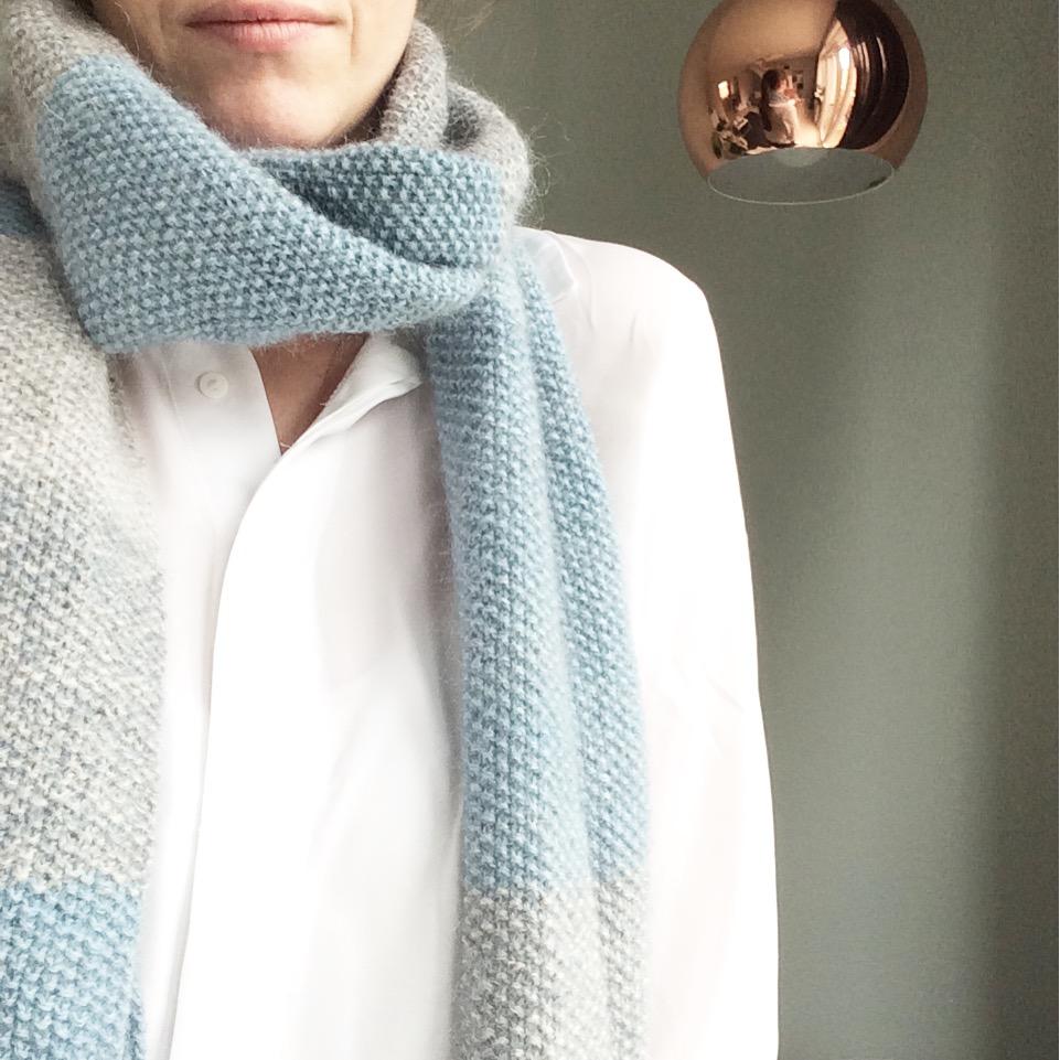 Strikket garderobe #6 – tørklæder og sjaler