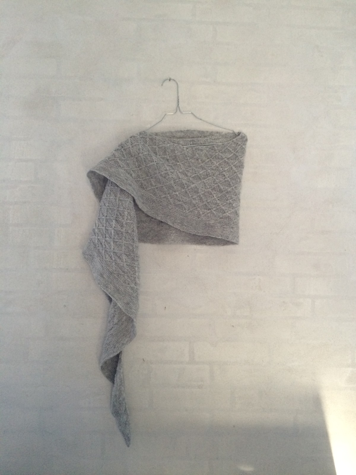 Finished object : Void shawl