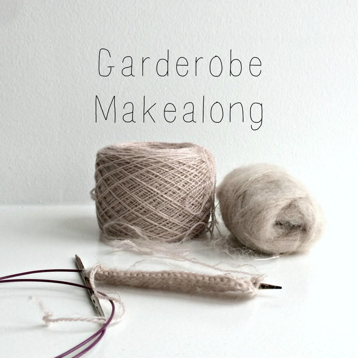 Forberedelser til Garderobe Makealong + månedsgaven for januar