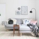 Diy Vaeg Lampe Stue Bolig Indretning Inspiration Sofa Livingroom Kreativ Blog Frkhansen Frkhansen Dk