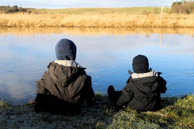 karup-aa, fisker, bedste-venner, influenza, jylland
