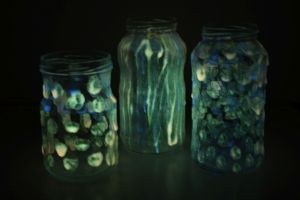 selvlysende-glas, selvlysende-maling, glow-in-the-dark