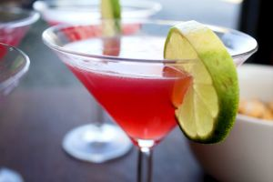 cosmopolitans, lime, cocktail