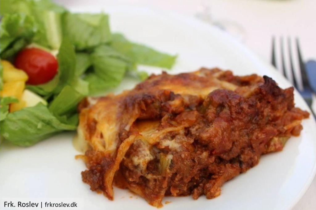 Lasagne med hjemmelavet mornaysauce