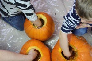 graeskarlygter, efteraar, halloween
