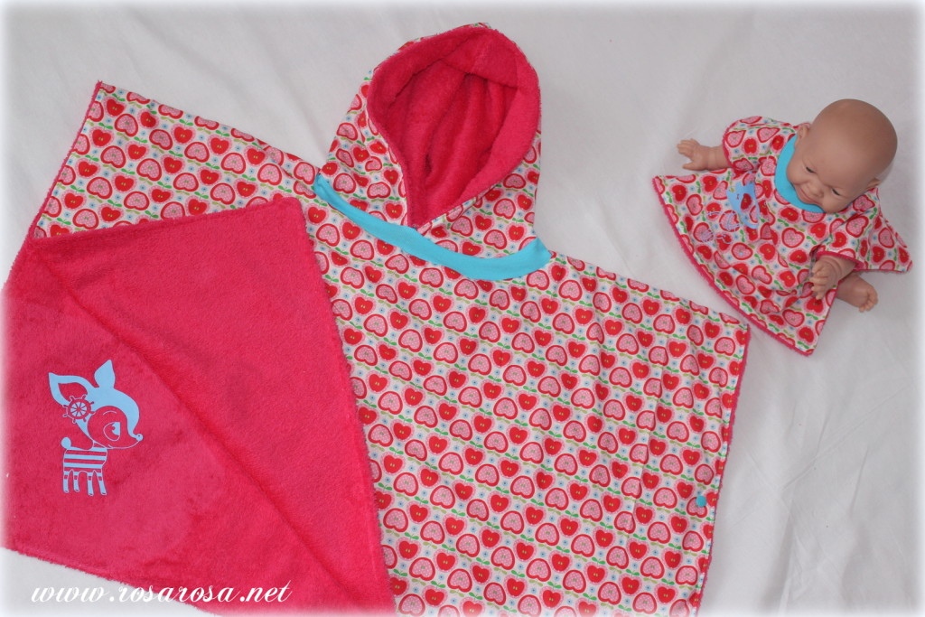 Frotteewoche Tag 4 – Badeponcho – frlrosa.de