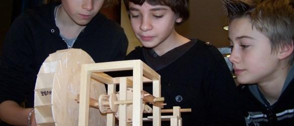 Expo mouvement : la roue de Vinci