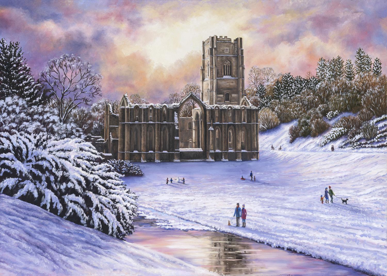 Cards Christmas Francesca Roberts Fine Art