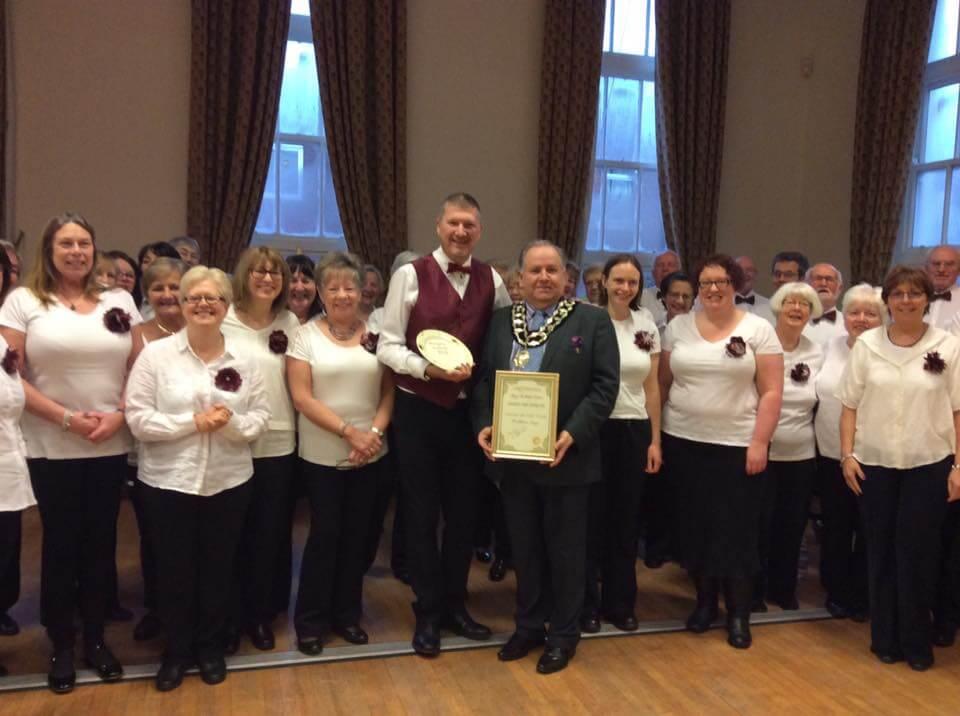 FS Receive Mayor of Frodsham's Community Award