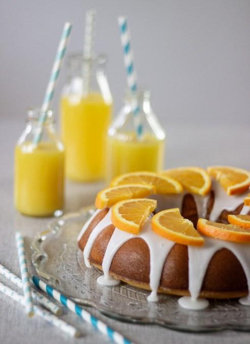Lækker og saftig appelsinkage