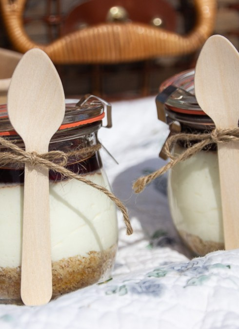 Cheesecake i glas
