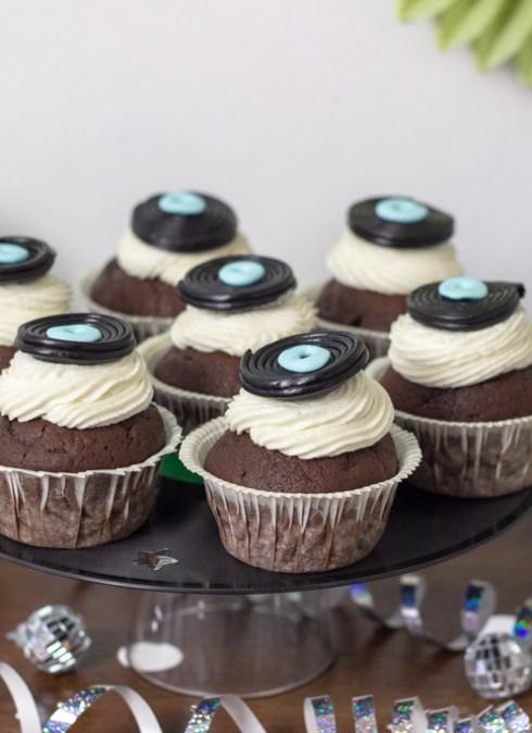Disko cupcakes