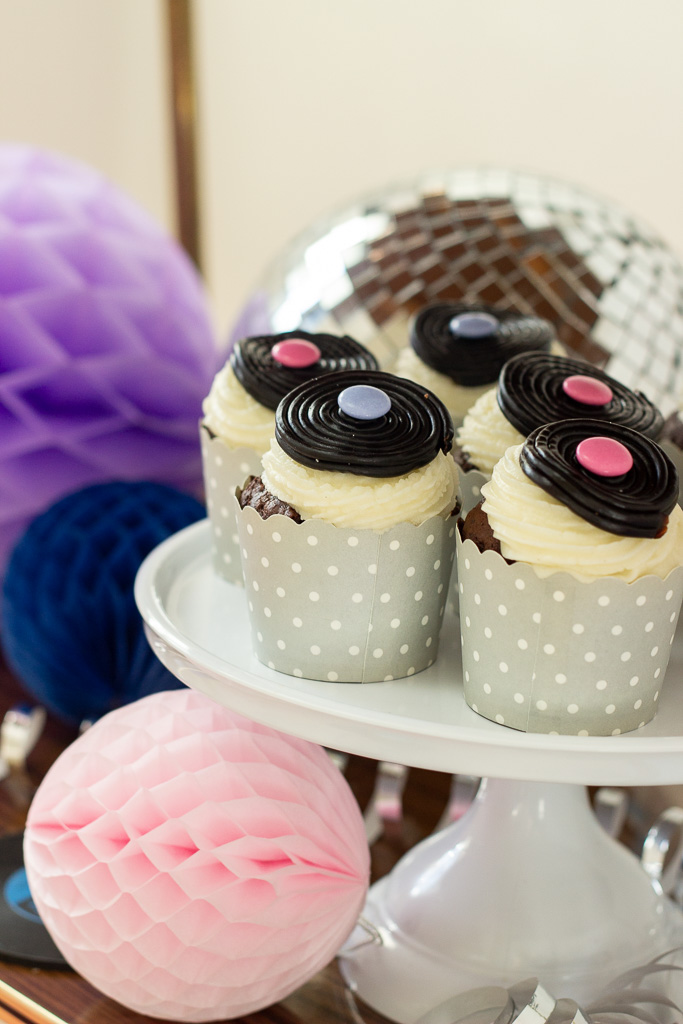MGP cupcakes med LP plader