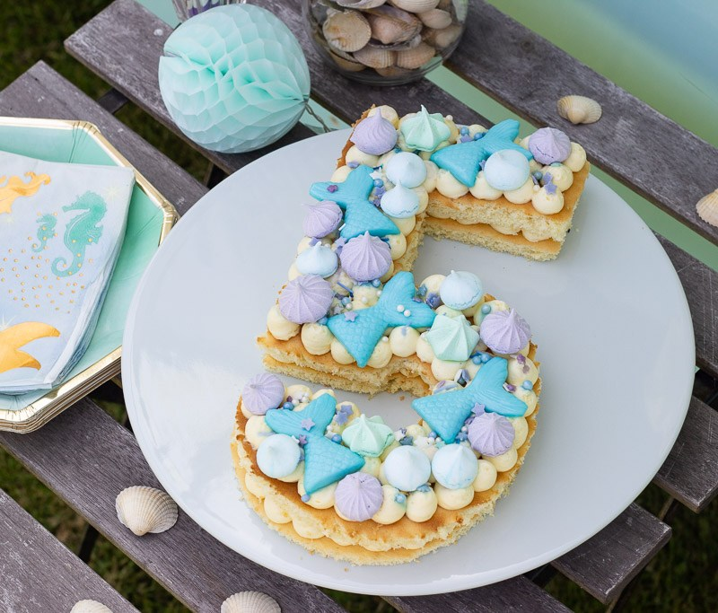 Havfrue kage
