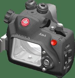Acuatica NEX-5用ハウジング(背面)