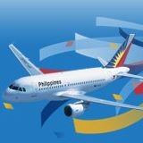 フィリピン航空のバナー