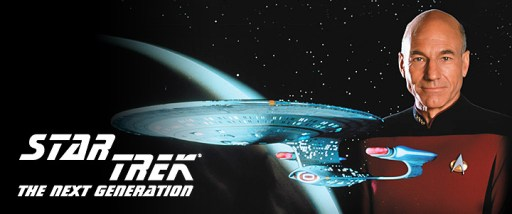 STAR TREK THE NEXT GENERATIONのバナー