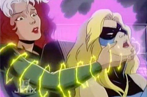 X-MEN アニメ 22話のワンシーン
