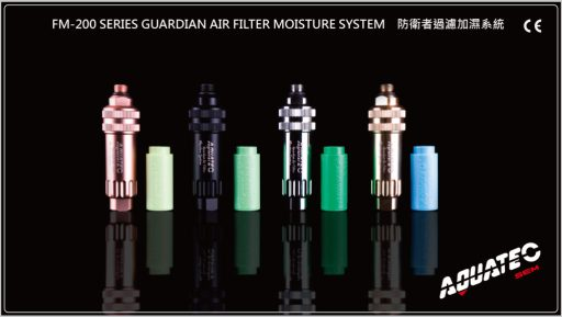 Aquatic Series Guardian Air Filter Moisture System