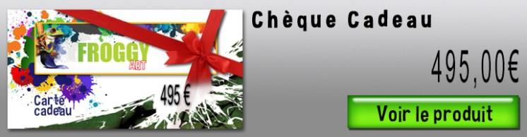 Chèques cadeaux FROGGY ART - Lyon Morancé